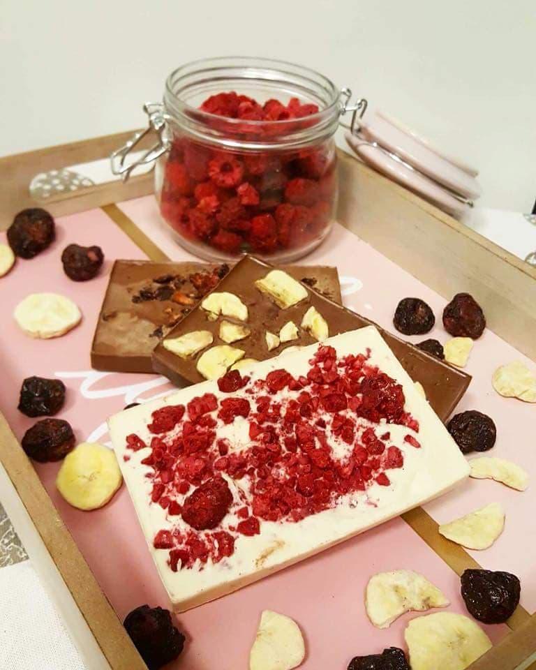 Białkowa czekolada bez cukru