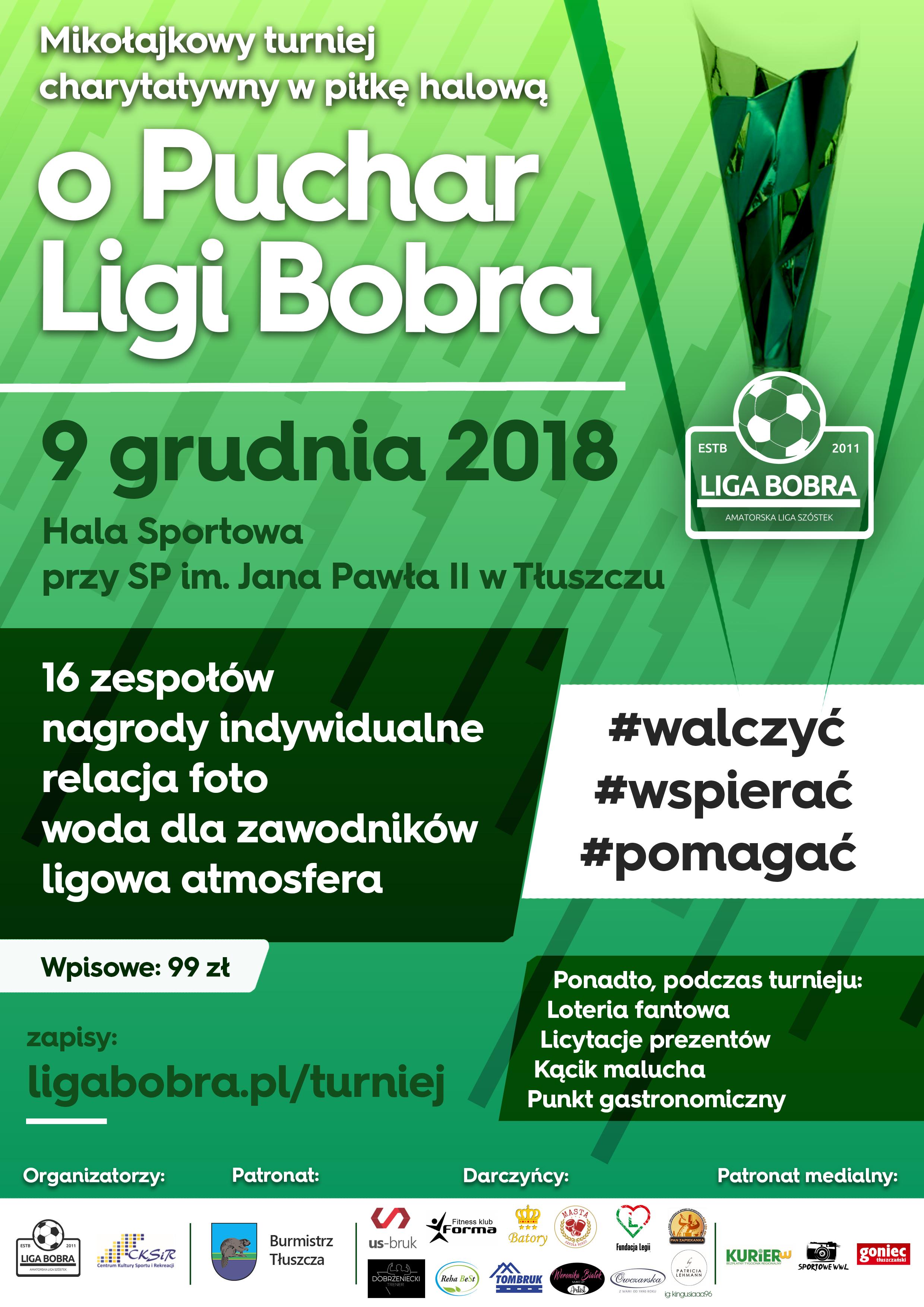 9 grudnia 2018 – Mikołajkowy turniej charytatywny w Tłuszczu