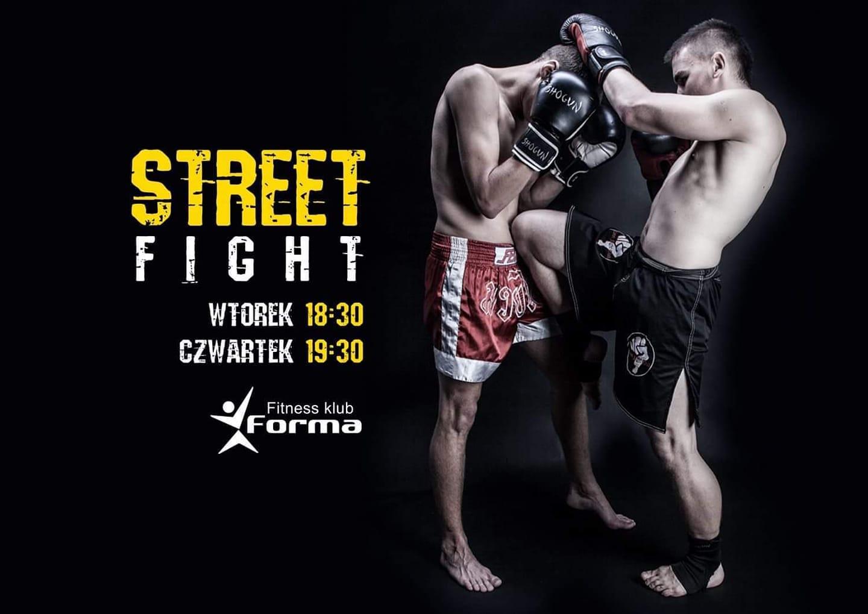 STREET FIGHT już od 1 pździernika 2019 w Fitness Klub Forma !