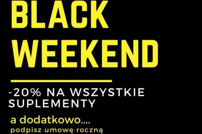 BLACK WEEKEND !