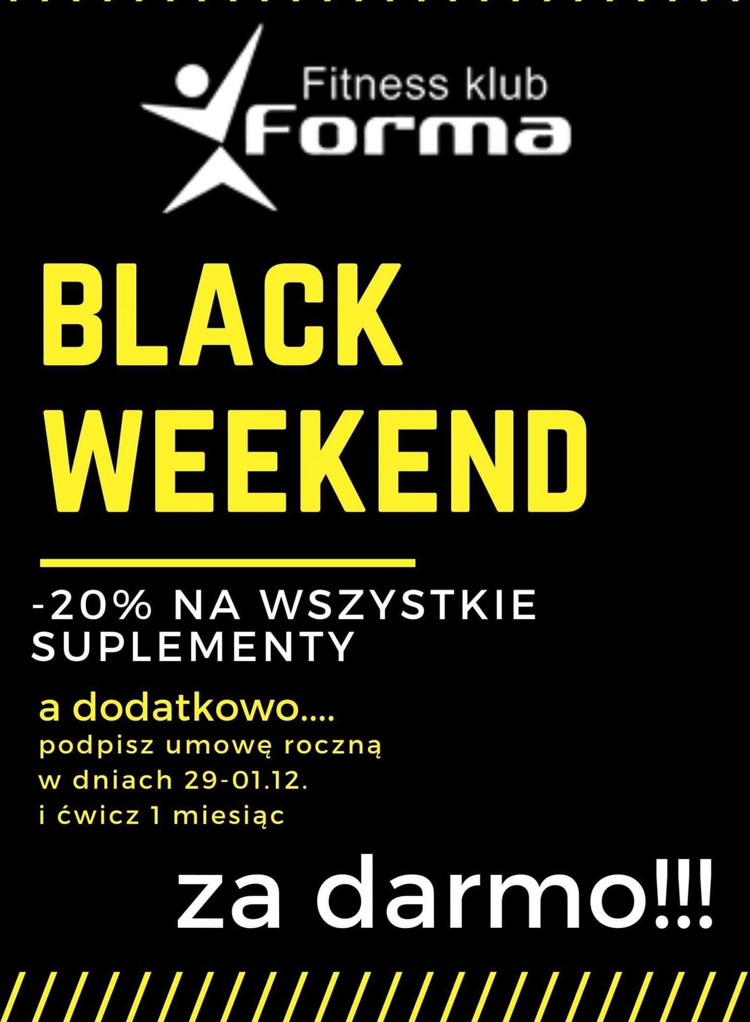 BLACK WEEKEND !