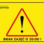 04.02.2020: Brak zajęć Forma Cross Pump