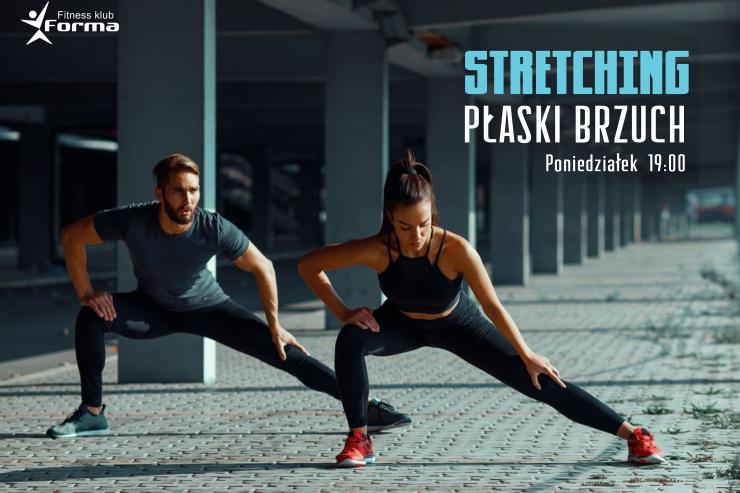 Nowość w grafiku fitness ! STRECHING/PŁASKI BRZUCH
