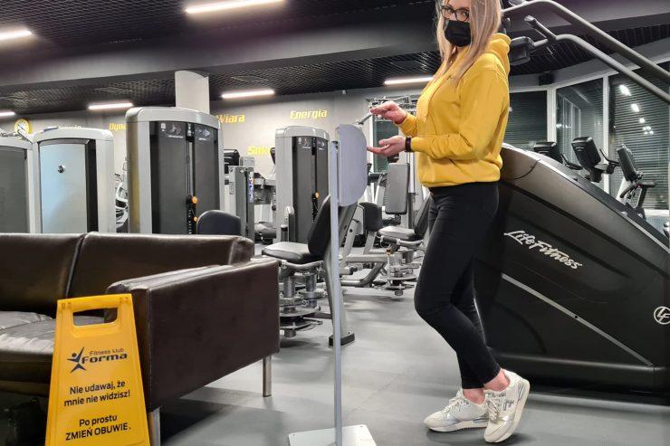 Zalecenia podczas korzystania z siłowni