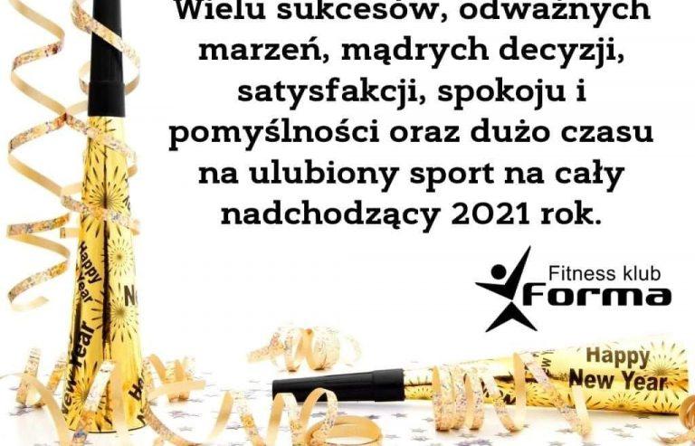 WSZYSTKIEGO NAJLEPSZEGO W 2021 OD FITNESS KLUB FORMA :)